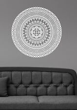 Mandala Wall Decal Indian Pattern Ornament Namaste Flower Vinyl Sticker Decor 10