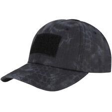 dc7f74cd6b2 Condor Tactical Mens Baseball Cap Night Hunting Ripstop Hat Kryptek Typhon  Camo