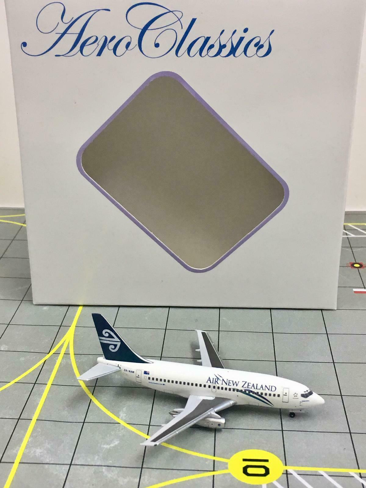 NEW AeroClassics 1 400 Air New Zealand Boeing 737-200 ZK-NAW ZK-NAW ZK-NAW  1997s colors  93332d