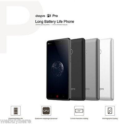 5.0'' DOOPRO P1 Pro Débloqué 4G Smartphone 16GB Téléphone Android 6.0 4Core Gris