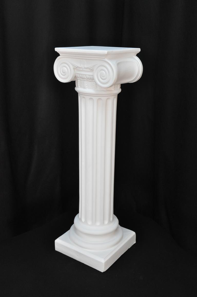Medusa Säule Römische Säulen Marmor Skulptur Figur Deko Dekoration Ständer 1048