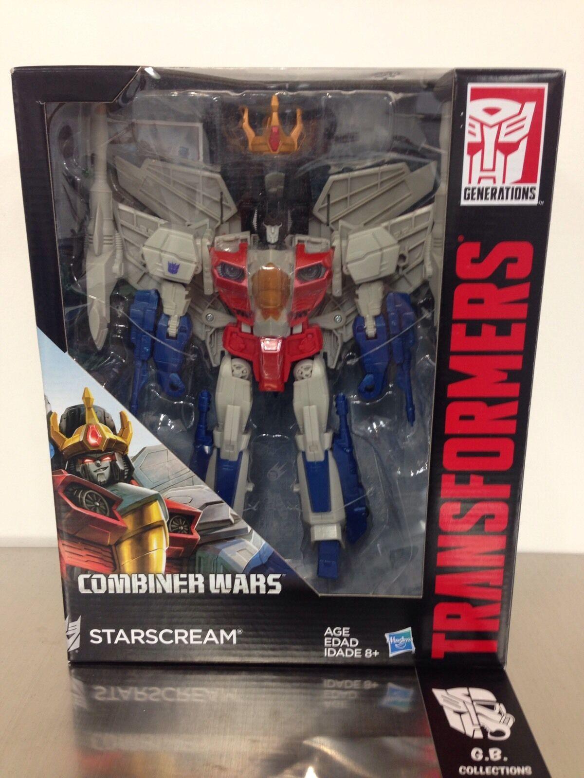 Transformers Combiner Wars Starscream Leader Class New Sealed