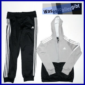 SCHNAPPCHEN-adidas-Track-Suit-Game-Time-Women-Gr-Jacke-M-Hose-L-T-9804