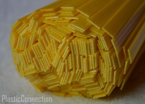 En plastique abs baguettes de soudage Jaune 6mm 25pcs