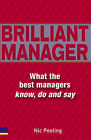 The Brilliant Manager's Handbook by Nick Peeling (Paperback, 2005)
