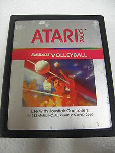 ATARI-VCS-2600-REALSPORT-VOLLEYBALL-REAL-SPORT-ORIGINAL-LOOSE-VERY-RARE