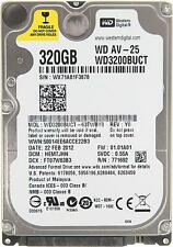 "Western Digital WD3200BUCT 320GB 2.5"" Sata Laptop Hard Disc Drive HDD Warranty"