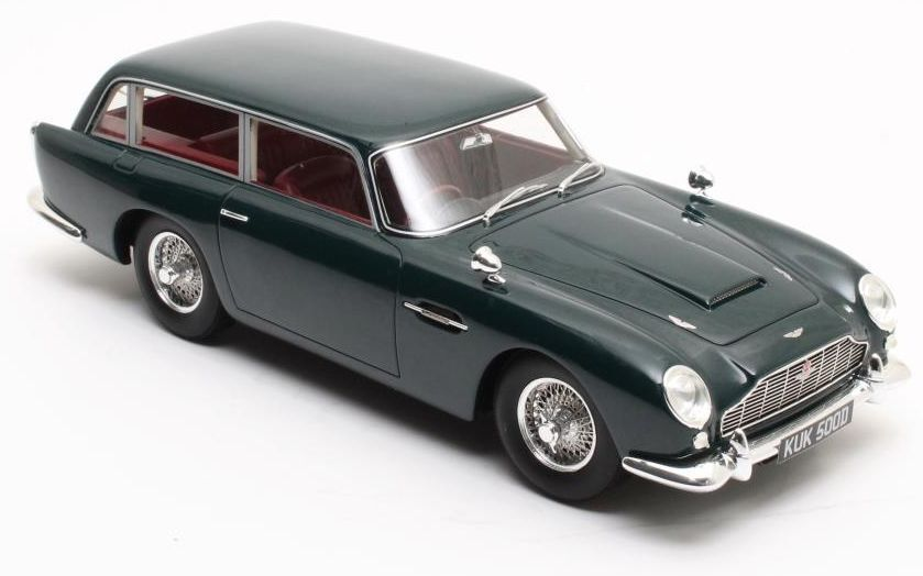 CML028-1, CULT SCALE MODELS, ASTON MARTIN DB5 SHOOTING BRAKE, GREEN, 1 18 SCALE