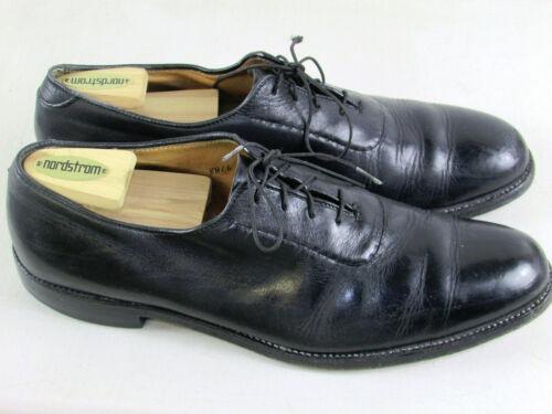 Alden black leather men's shoes 12 AAA vintage