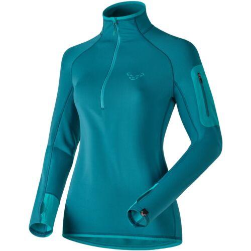 NEW Dynafit THERMAL Womens XL 1//2 Zip Tee Hiking Running Midlayer Shirt Msrp$120