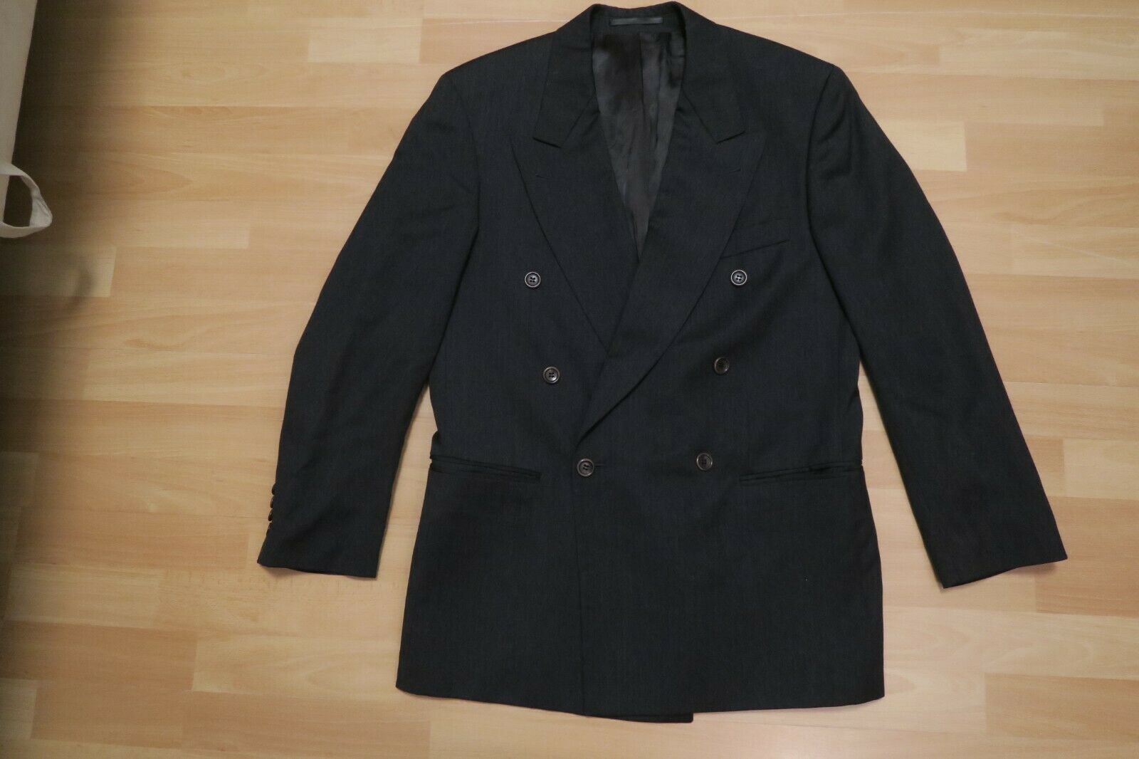 HUGO BOSS Sakko w.NEU  S 48 100%Wolle grau Jacke ZEUS AKROPOLIS Herren Anzug