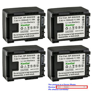 Replacement Battery for FS10 Flash Memory Camcorder FS100 Flash Memory Camcorder FS11 Flash Memory Camcorder Vixia FS10 Vixia FS100 Vixia FS11 VIXIA HF G10 VIXIA HF G20 VIXIA HF G30 VIXIA HF M30 VIXIA