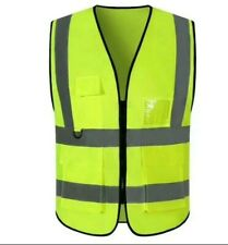 Reflective Safety Work Vest High Visibility Withpockets Amp Witho Pockets