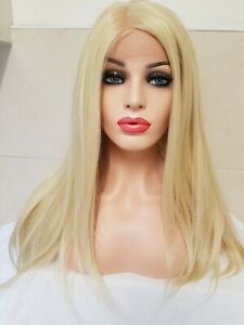 Light-Blonde-Human-real-hair-full-frontal-lace-wig-free-part-lace-weft-free