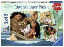 Original Ravensburger Puzzle Disney 3x49 Teile Vaiana