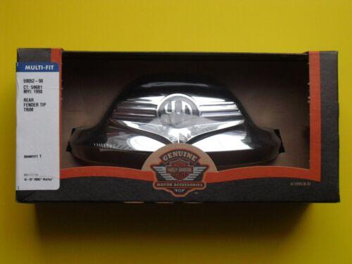 New OEM Harley-Davidson Softail FLH Roadking  Rear Fender Trim Tip USA MADE