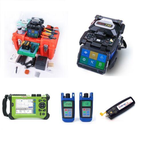 Orientek T45 Fusion Splicer OTDR SV20A SM 1310//1550nm OPM OLS VFL other tools