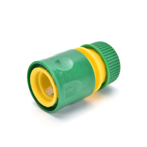Gartenhahn Wasserschlauch Rohrverbinder Schnellkupplung Adapter FittingZBDE