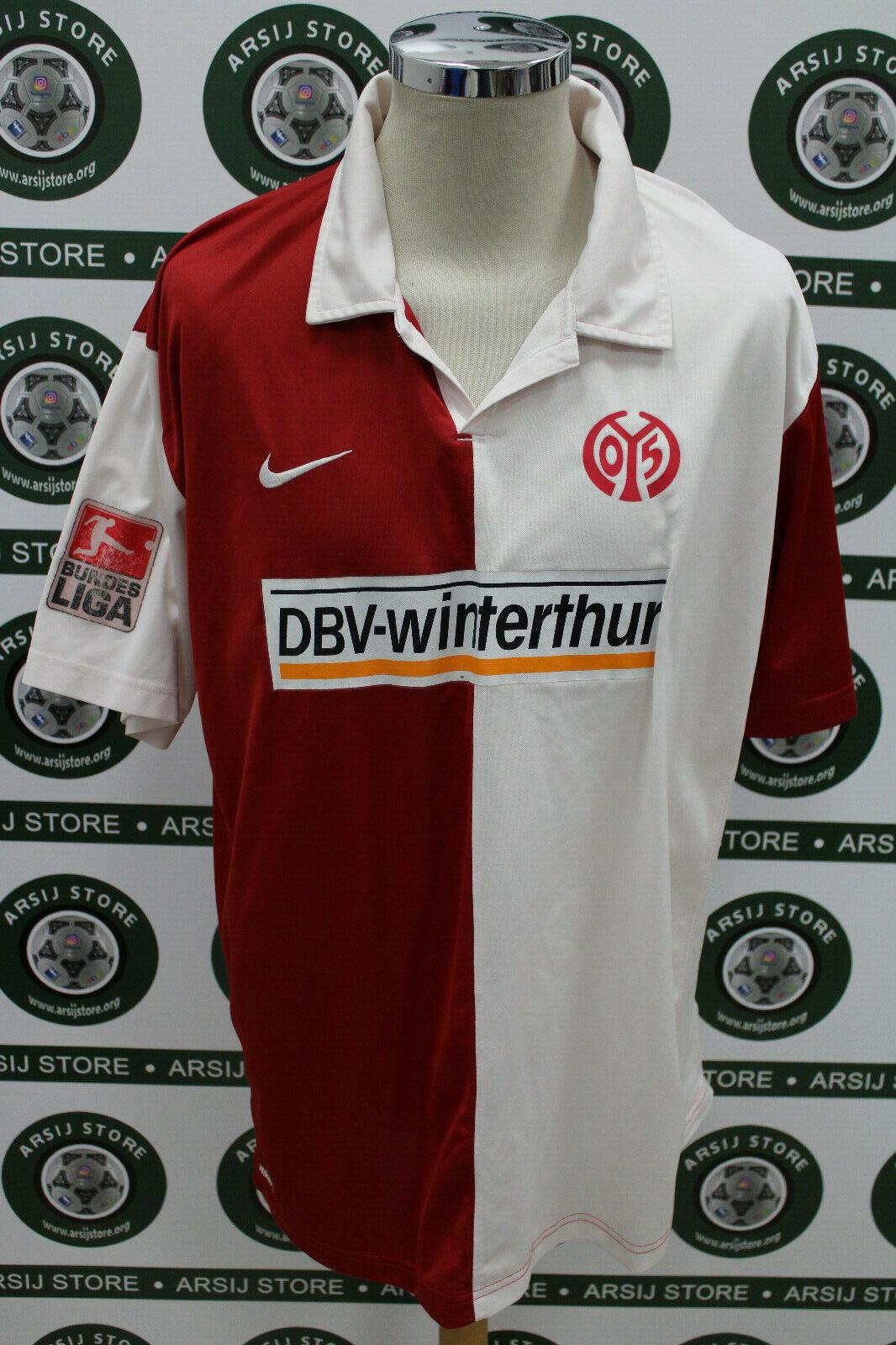 Maglia calcio shirt maillot trikot camiseta MAINZ BANCE TG XXL 2008 09