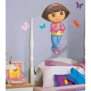 DORA-THE-EXPLORER-Giant-Wall-Decals-Peel-and-Stick-Mural-RoomMates-Stickers
