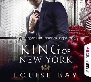 LOUISE-BAY-KING-OF-NEW-YORK-NICOLE-ENGELN-JOHANNES-RASPE-4-CD-NEU