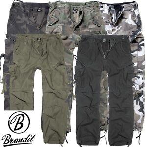 Brandit-Herren-M65-Vintage-Hose-Men-Pants-Cargohose-Outdoor-NEU-S-M-L-XL-XXL