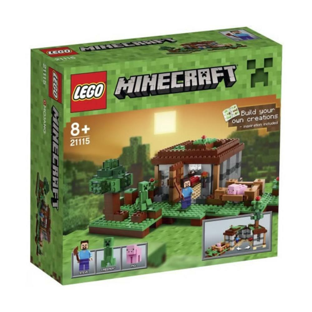 LEGO ® Minecraft ™ 21115 Steve CASA NUOVO OVP _ The First Night NEW MISB NRFB