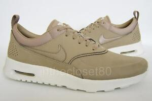 more photos e73f6 8af21 Image is loading Nike-Air-Max-Thea-Premium-Leather-Desert-Camo-