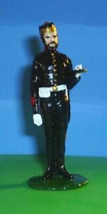 TOY SOLDIERS TIN CANADA BRITISH FORT HENRY GUARDS FLAG BEARER 54 MM