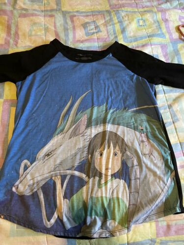 Spirited Away T-Shirt. Good Condition. 3/4 Sleeves
