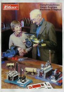 Wilesco-Dampfmaschinen-Prospekt-D-GB-F-2004-Steam-Engines-Machines-a-Vapeur