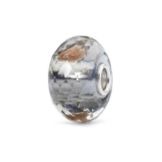 Moda Bead in Argento TROLLBEADS Anima dei Fiori Vetro TGLBE-10401