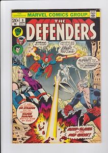 Defenders-8-Sept-1973-Marvel-Comics-Silver-Surfer-Appearance-VG