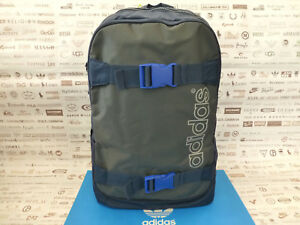 ADIDAS Backpack SKATE Rucksack Navy Strong Polyester Shoulder Laptop ... cca2c5068b8