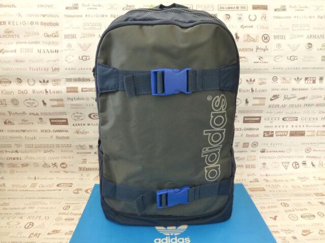 23fcacfe0b36 ADIDAS Backpack SKATE Rucksack Navy Strong Polyester Shoulder Laptop Bags  BNWT