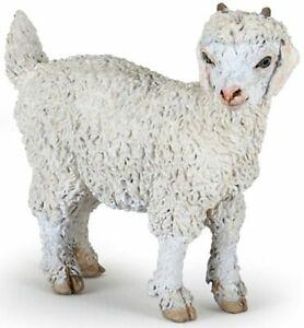 Papo-51171-Young-Angora-Goat-Model-Farm-Animal-Figurine-Toy-Gift-NIP