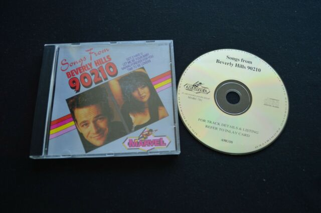 SONGS FROM BEVERLY HILLS 90210 RARE AUSTRALIAN CD! LUKE PERRY SHANNON DOHERTY