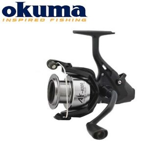 NEUF-2019-Okuma-AK-Baitfeeder-Carp-Fishing-Reel-Aluminium-Reel-extra-spool
