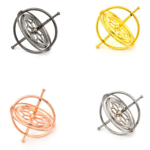 Metal Gyroscope Spinner Gyro Science Educational Learning Balance Toys gift LE