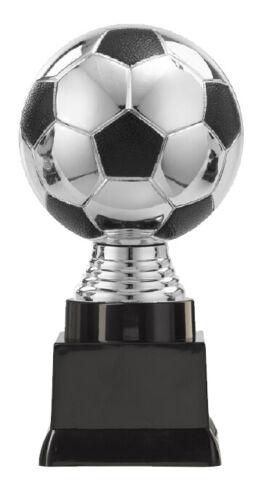 """Sockelbeschriftung Pokal in Silber-Figur /""""Fußball/"""" 12,5 cm bis 16 cm hoch inkl"""