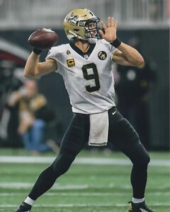 online store 74e27 51fa9 Drew Brees UNSIGNED 8X10 Photo New Orleans Saints | eBay