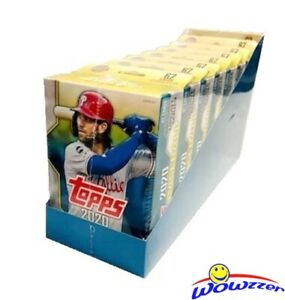 2020-Topps-UPDATE-Baseball-EXCLUSIVE-Hanger-CASE-8-Factory-Sealed-Boxes-536-Card