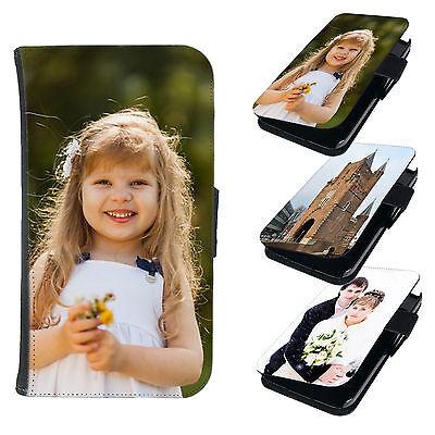 Book Style Handy Tasche Flip Cover Schutz Hülle Etui Schale Bild Foto Motiv