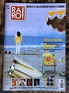 RARO-211-Magazine-about-discography-ps-NEIL-YOUNG-PFM-Tozzi-Beatles-Sorrenti