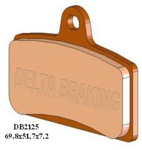DERBI 125 GPR Nude 04-08 Delta M1 Organic Front Brake Pads FA399