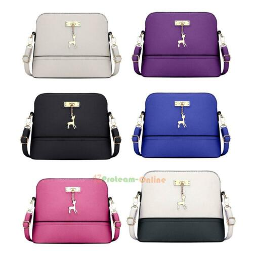 Pu Bag Handbag Leather Satchel Shoulder Women Messenger Crossbody Tote Purse New 35L4jcARq