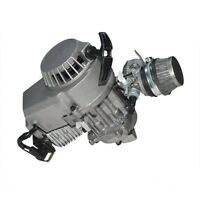 47cc 49cc 2 Stroke Pull Start Engine Motor For Pocket Atv Kid Scooter Razor Zu