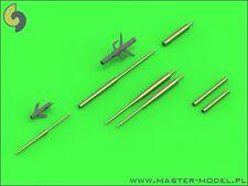 SUKHOI Su-17/20/22 (FITTER) PITOT TUBES & GUN (ALL VERSIONS) 1/72 MASTER-MODEL