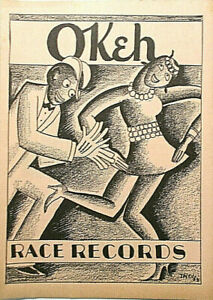 OKeh-78-RPM-CATALOGUE-c-1927-28-8-pages-photos-RACE-RECORDS-VERY-SCARCE-NM