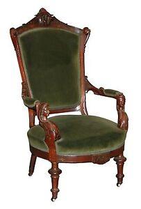 Victorian-Armchair-by-John-Jelliff-1800-1899-7388